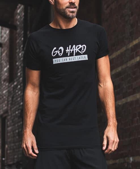 GHOGH T-Shirt Svart