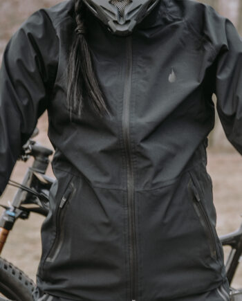 GO all black softshell Jacket – unisex