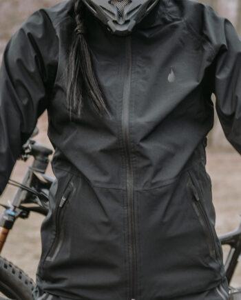 GO all black softshell Jacket – unisex