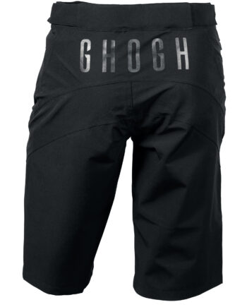 GHOGH GO all black MTB shorts – unisex