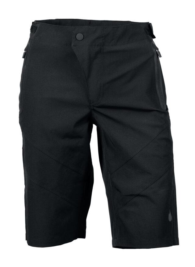 GHOGH GO all black MTB shorts – unisex