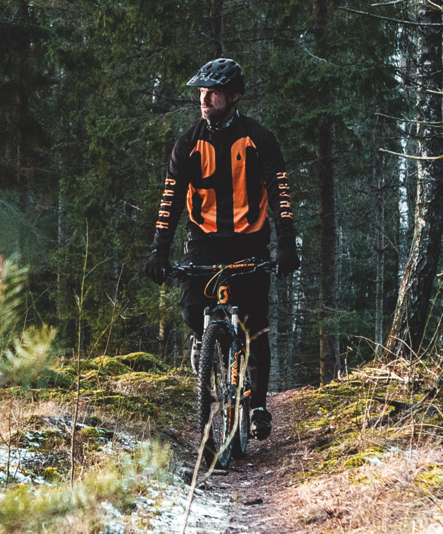 GO long sleeve MTB jersey – Man