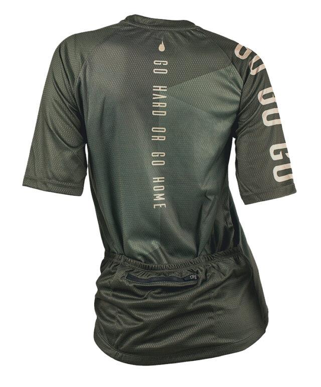 GO GO short sleeve MTB jersey cykeltröja back tjej