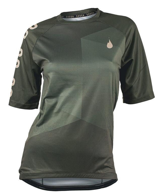 GO GO short sleeve MTB jersey cykeltröja front tjej