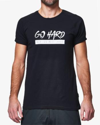 GHOGH_GO HARD T-shirt Black