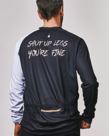 GHOGH Shut up legs long sleeve MTB Jersey_back