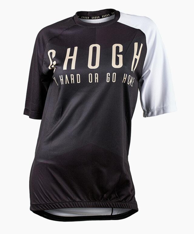 GHOGH Shut up short sleeve MTB Jersey front tjej