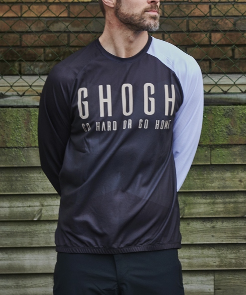 GHOGH Shut up Long sleeve front men