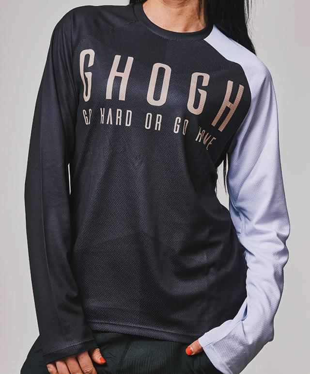 GHOGH Shut up Long sleeve tjej DH XC MTB