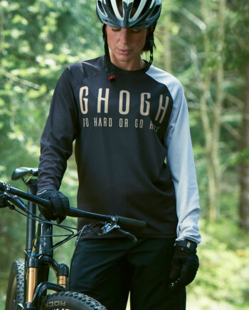 GHOGH Shut up Long sleeve tjej front DH XC MTB 2