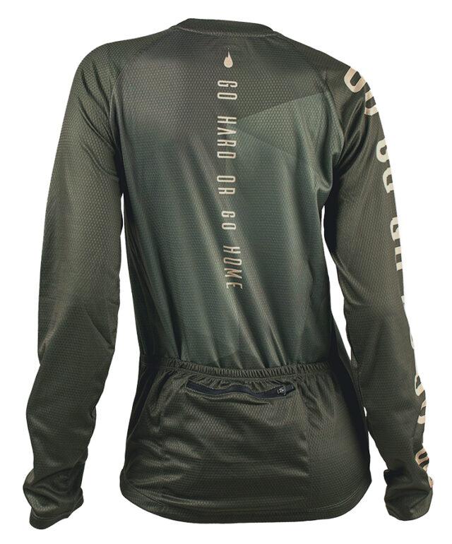 GO GO long sleeve MTB jersey cykeltröja back tjej