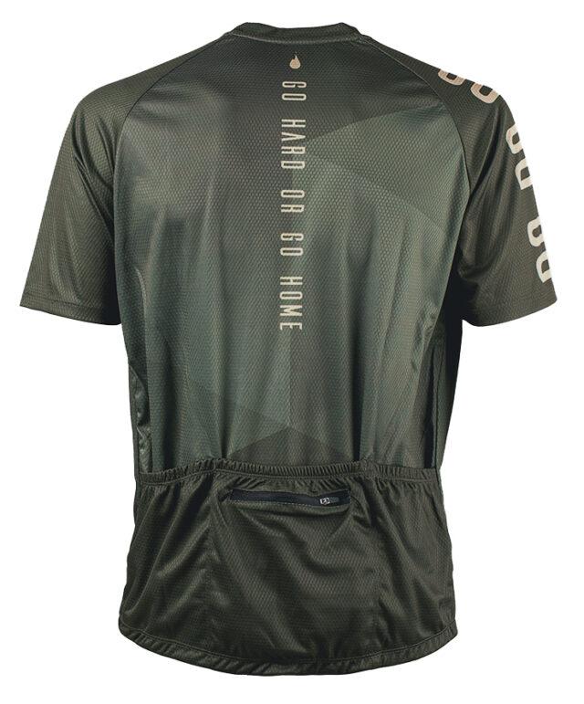 GHOGH GO GO short sleeve MTB jersey cykeltröja back man