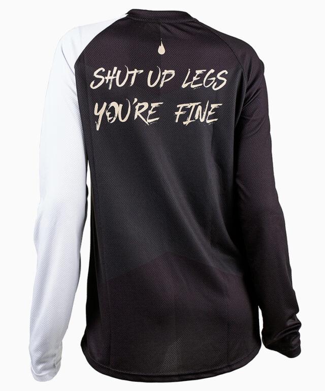 GHOGH Shut up long sleeve DH XC MTB back tjej