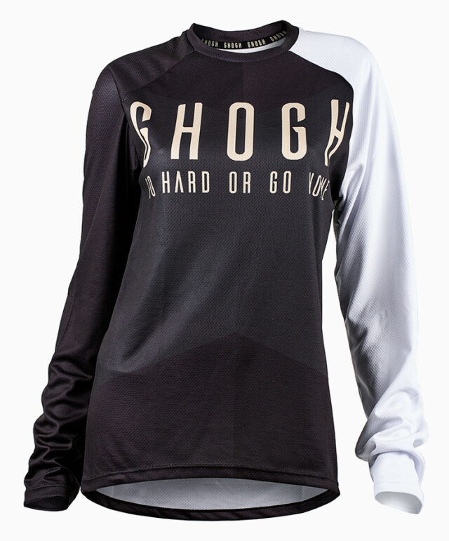 GHOGH Shut up long sleeve DH XC MTB front tjej