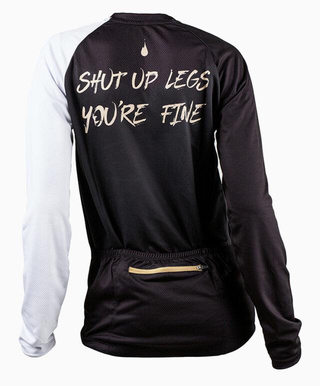 GHOGH Shut up long sleeve MTB Jersey back tjej