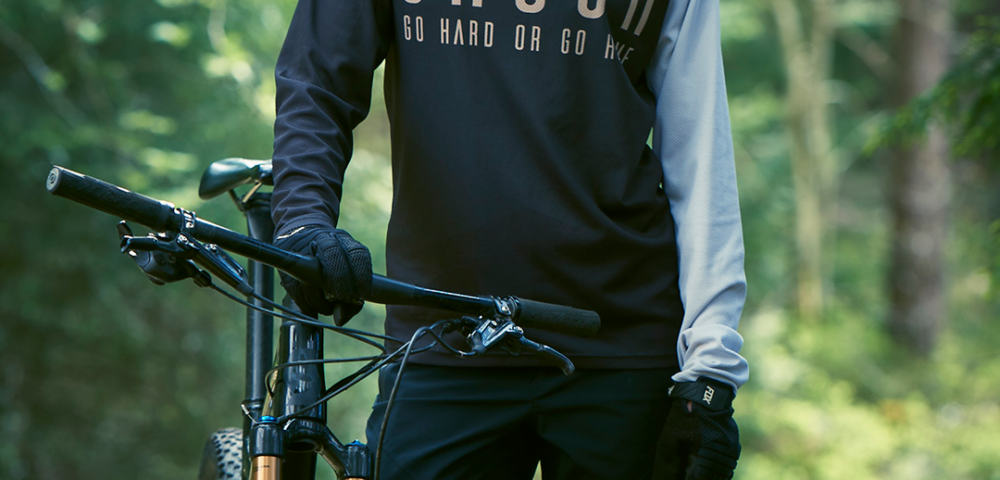 GHOGH GO HARD downhill MTB Jersey