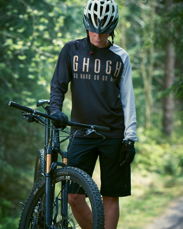 GHOGH GO HARD downhill MTB Jersey
