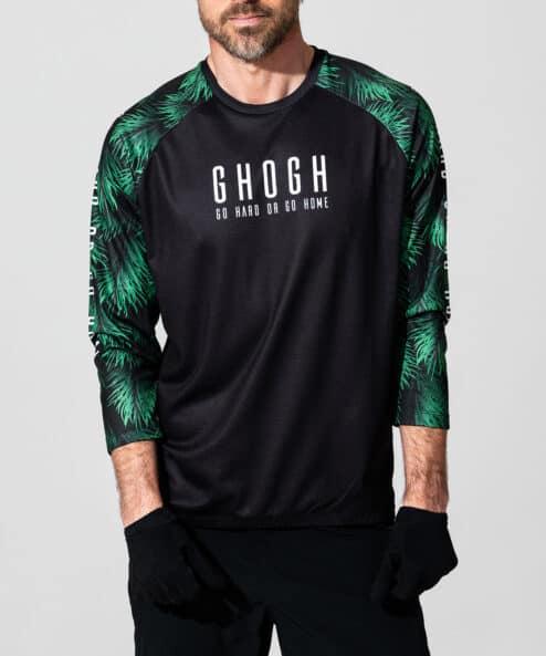 GHOGH GO Tallbarr 3_4 MTB Jersey front