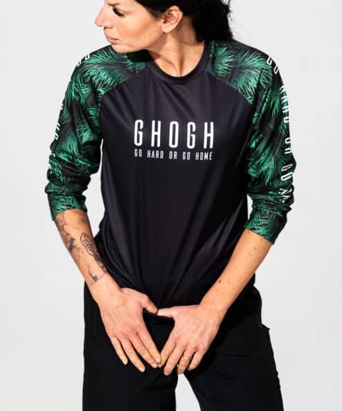 GHOGH GO Tallbarr 3_4 MTB Jersey front kvinna